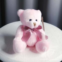 Мягкая игрушка Мишка розовый