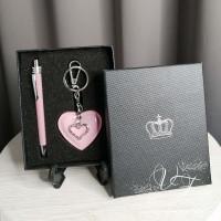 Подарочный набор Ручка и кулон сердце