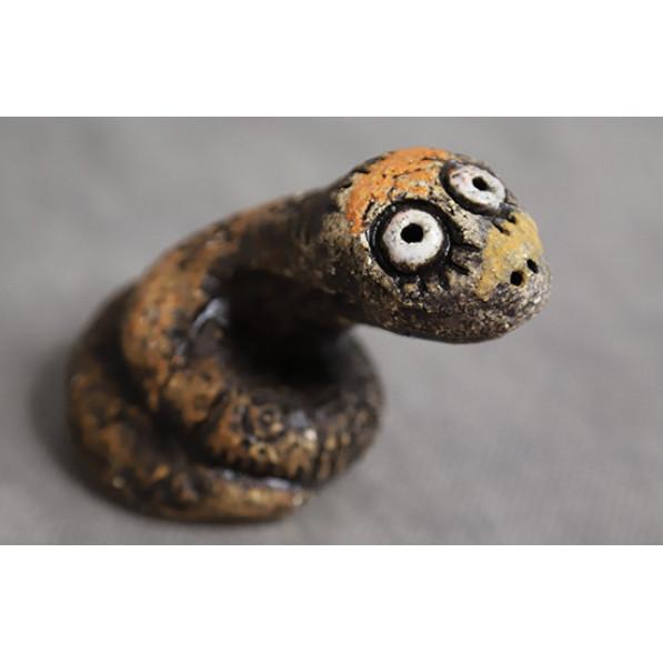Змейка глазастая керамика