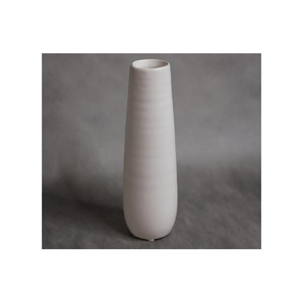Ваза белая керамика
