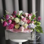 Цветы для выписки из роддома