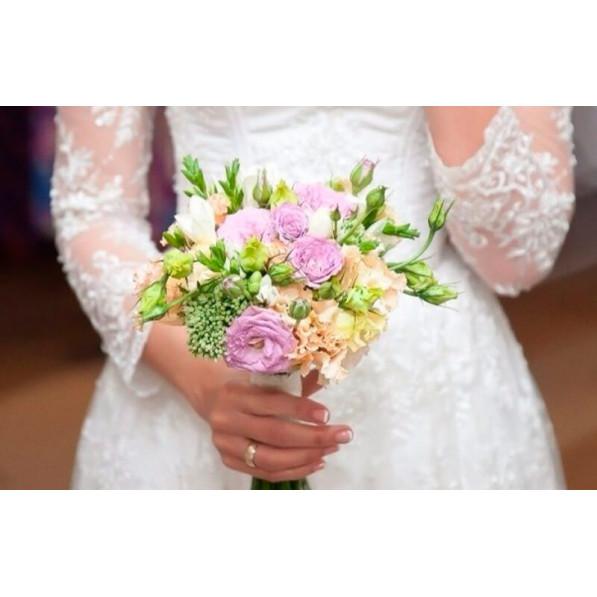"""Букет невесты """"Фиолетовый рай"""""""
