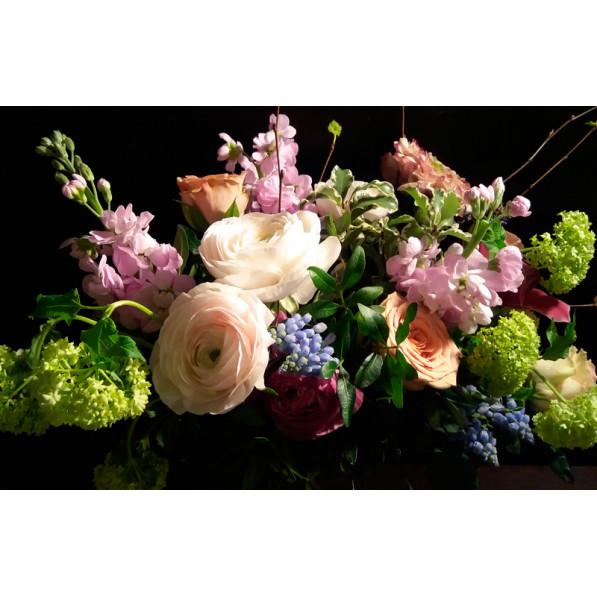 """Букет из роз и орхидей """"Вегас"""""""