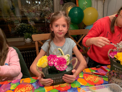 Мастер класс Цветочные Встречи от Vladi Flowers