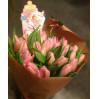 """Букет тюльпанов """"С новорожденной"""""""
