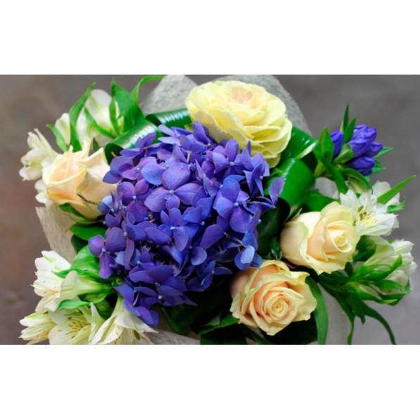 """Букет цветов """"Синяя птица"""""""