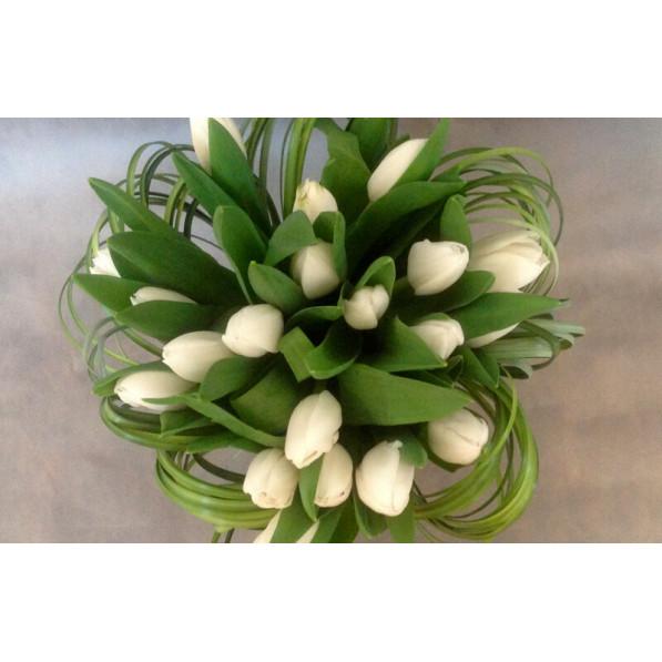 """Букет тюльпанов """"Любимой Перу"""""""