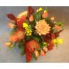 """Букет из хризантем и роз """"Любимая симфония"""""""